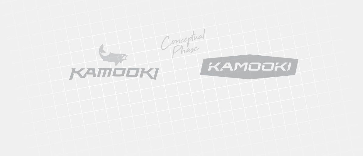 Kamooki conceptual logo phases