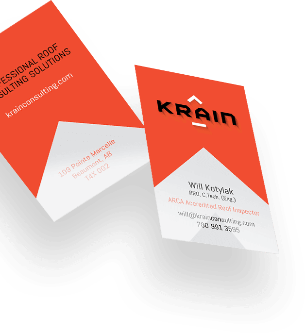 Krain business cards